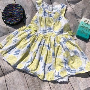 2/$8 3T Dress Genuine Kids OshKosh yellow and blue